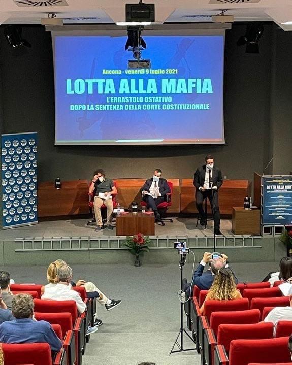 Ad Ancona Con L'On.le Emanuele Prisco Per Presentare La Proposta Di Legge Di Fratelli D'Italia Sull'ergastolo Ostativo.
